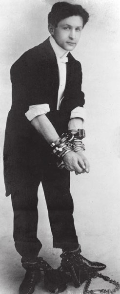 Гарри Гудини (Эрик Вайс), около 1905 года. Фото из «Википедии»