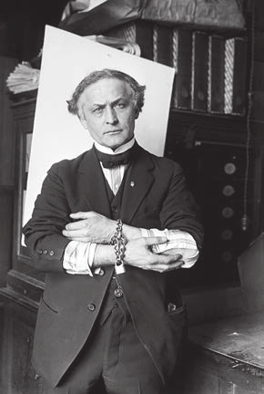 Гарри Гудини, 1918 год. Фото из «Википедии»