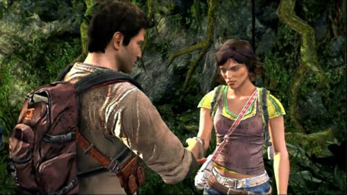 TNP UGA05 marisa TEST   Uncharted Golden Abyss PSVita