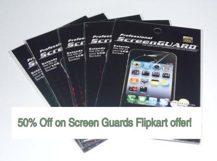 Mobile Phone Screen Protectors Flipkart 50% Off Discount