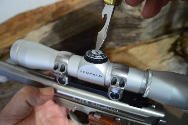 Adjusting my scope