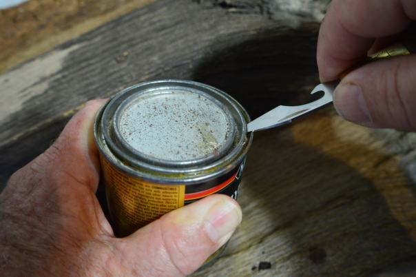 Popping the lid on a can of Poly