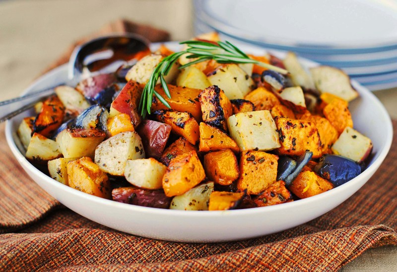 Large Of Fried Red Potatoes
