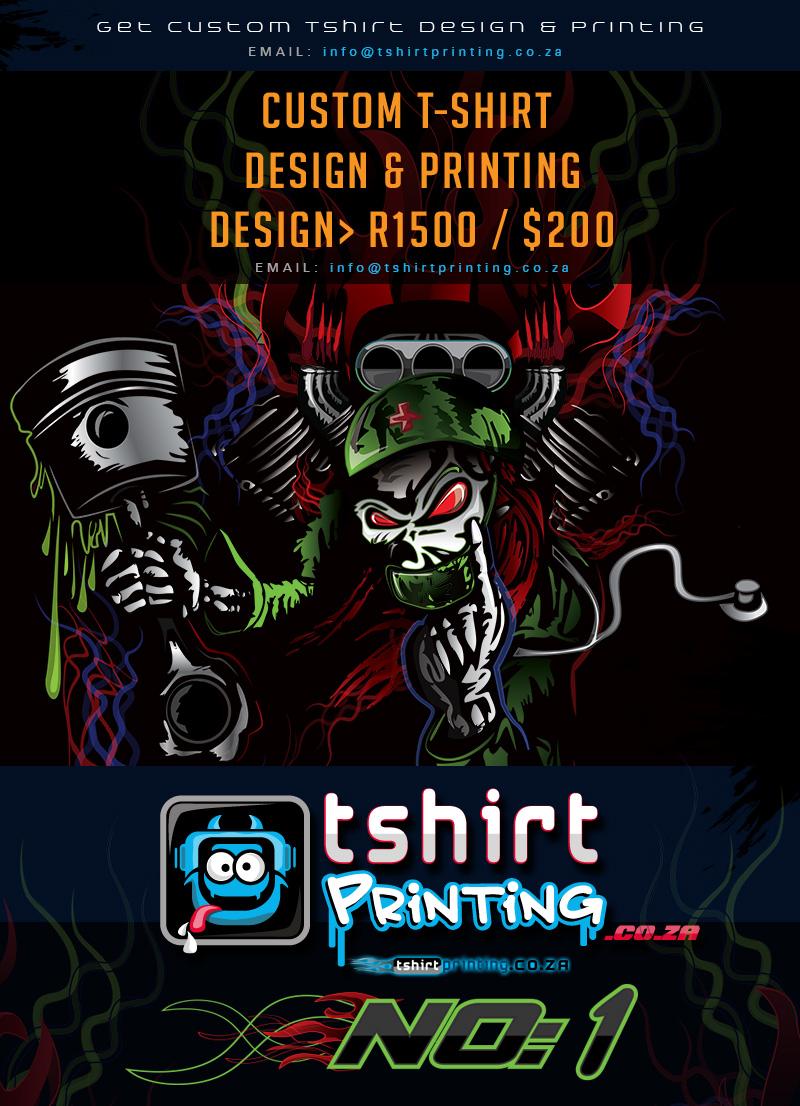 Cool design for Custom t shirt company