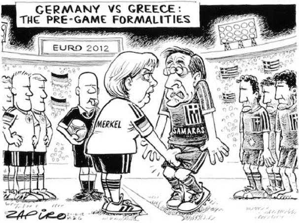 EURO 2012  ΓΕΡΜΑΝΙΑ vs ΕΛΛΑΔΑΣ 4-2 Α