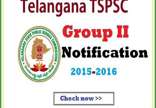 tspsc group 2 notification 2015-16