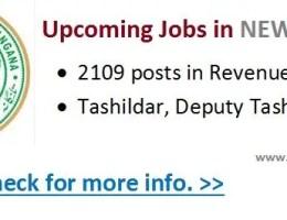 Telangana new district jobs 2016-17
