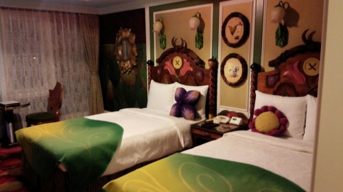 DSC 4151 500x281 【ディズニーランドホテル】ティンカーベルルームに宿泊しました!