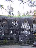 グヌン・カウィの墓碑群