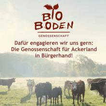 BioBoden Genossenschaft: Ackerland in Bürgerhand (GLS Bank) @ Grünhof