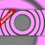 Video Transition Pink Circles