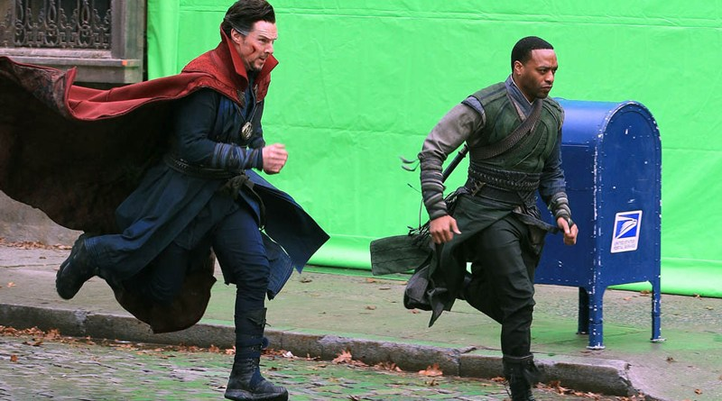 Doctor Strange Set Photo