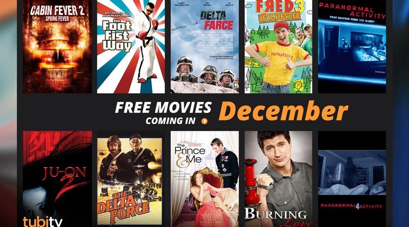 Tubi TV December Movies