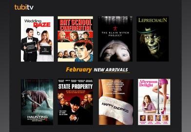 Tubi TV's February Free Movie Arrivals