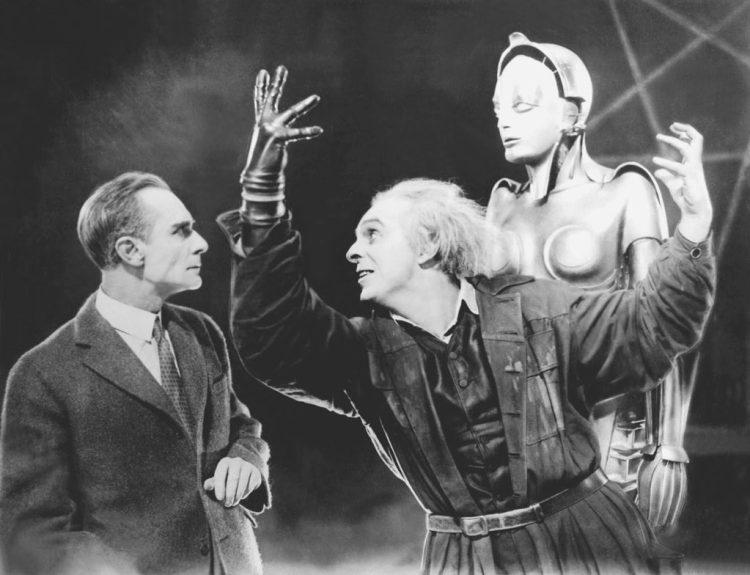Dystopian film Metropolis