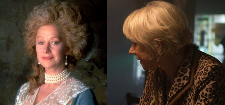 Helen Mirren, The Madness of King George and The Fate of the Furious