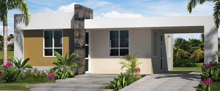 Casa modelo Vieques