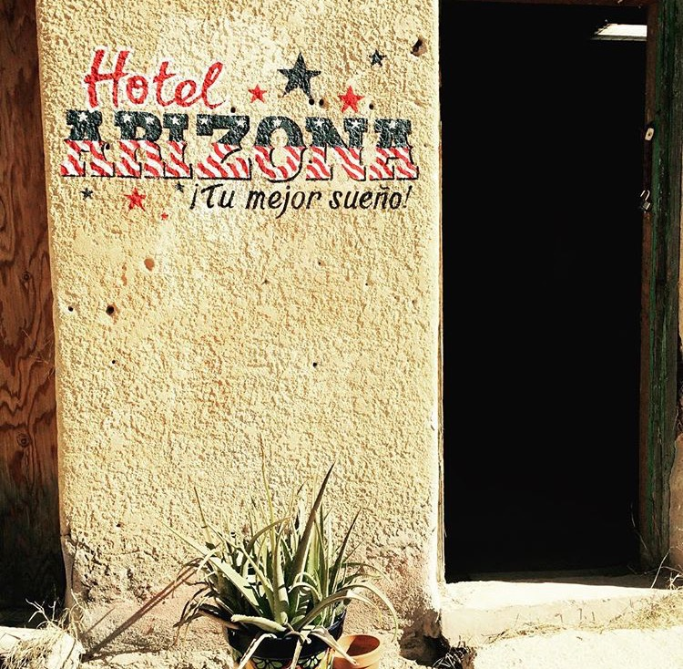 TFMF - Hotel Arizona - sign