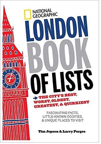 TueNight Lists London Book of Lists