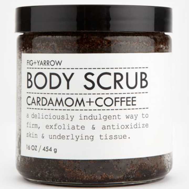Fig and Yarrow Coffee Body Scrub TueNight.com