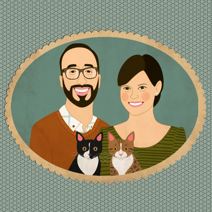 Etsy Pet Family Portraits