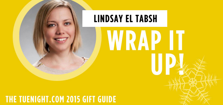 tuenight gift guide lindsay el tabsh how to wrap presents