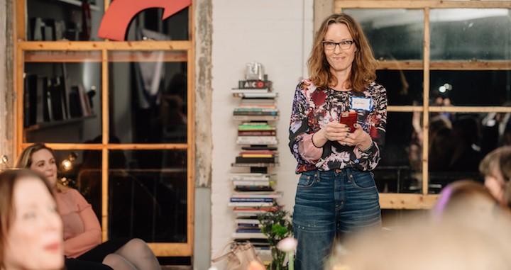 Karen led the audience in an open forum, sharing her own maternal fails
