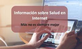 Búsqueda de información de Salud en Internet. Mi presentación en Colficat20
