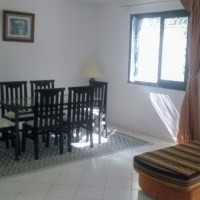 For rent furnished apartment with garden in Golden Tulip Gammarth