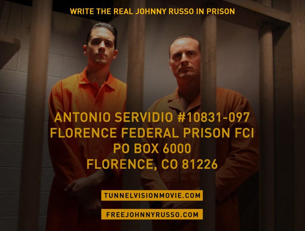 Write Tony in Prison