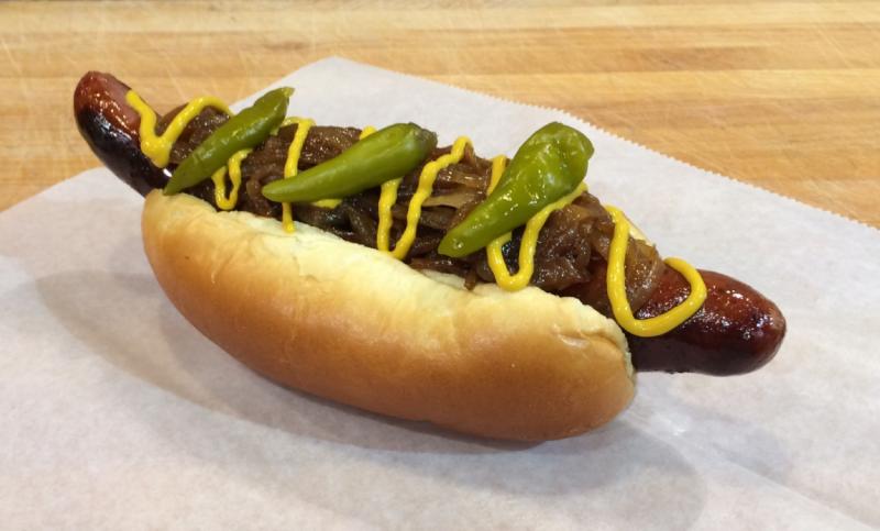 Large Of Polish Hot Dog