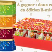 A gagner deux coffrets Lipton en édition limi-thé !