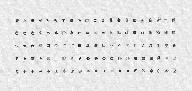 preview3 5 FREE Minimal Icon Sets for Web Design