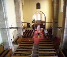 Biserica reformata Dej interior (2)