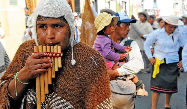 Los caminantes provienen de localidades como Isonza, Iruya, Nazareno, San Antonio de los Cobres y Cachi.
