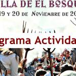 Programa Actividades VII Recreación Histórica El Bosque 2016