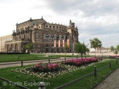 On the Theaterplatz is Dresden's glorious opera house, the neo-Renaissance Semperoper. Among others, premiers by Richard Wagner, Carl Maria von Weber and Richard Strauss happened here.