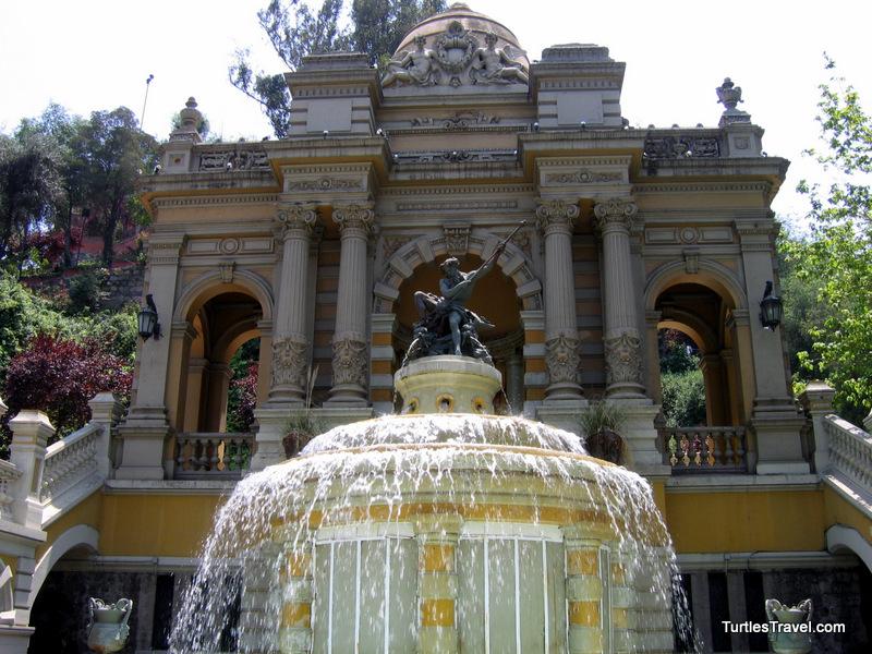 Santiago: Cerro Santa Lucia