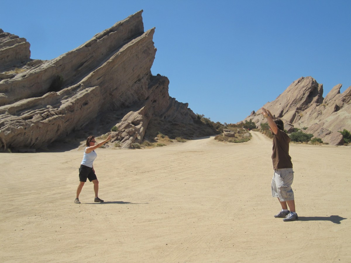 Vasquez Rocks!