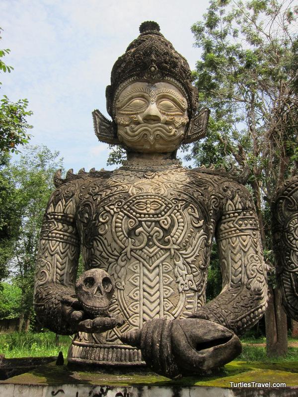 Sala Kaew Ku Statue