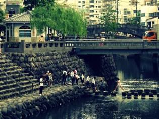 Nakajima River, Nagasaki
