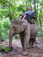 Elephant Village Experience, Luang Prabang