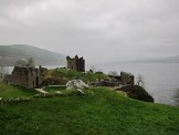 March- Urquhart Castle overlooking Loch Ness, Scotland