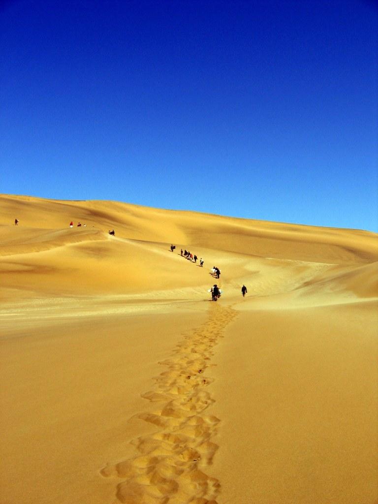 Dunes near Swapokmund, Namibia