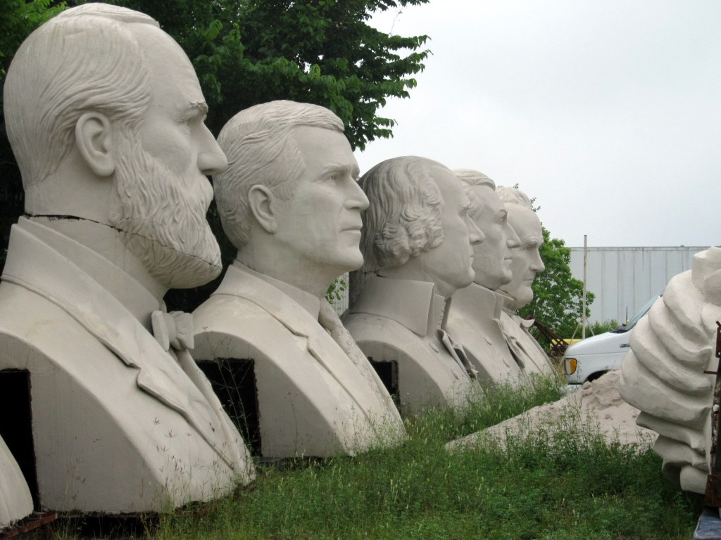 Presidential Busts