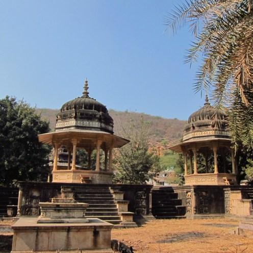 Royal Cenotaphs Outside Bundi