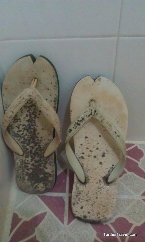 Scary Flip Flops