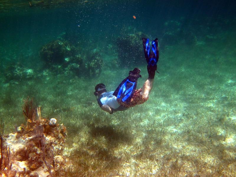 Snorkeling Rose Island