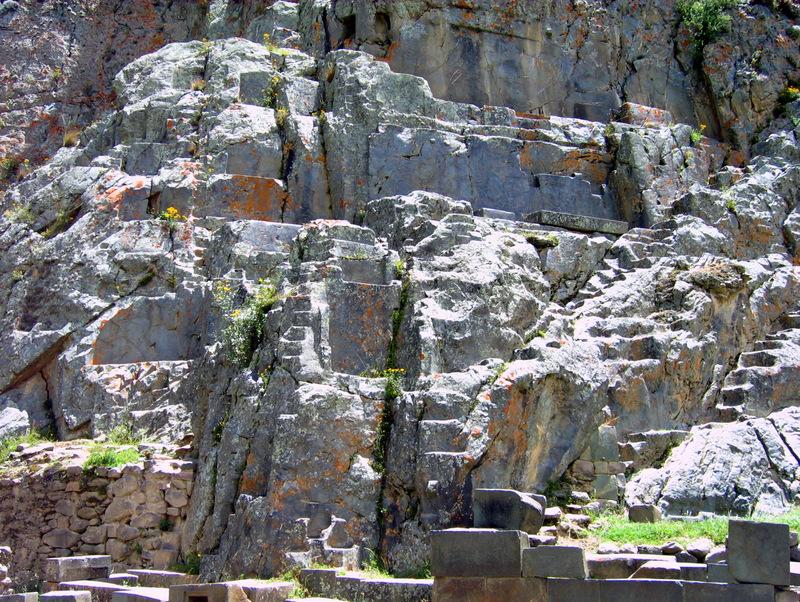 Rock Carving, Ollantaytambo