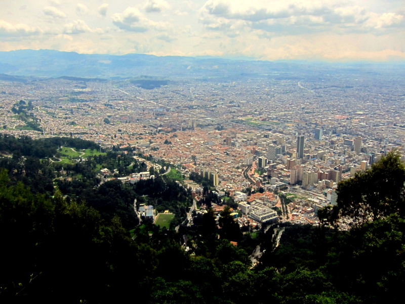 View from Cerro Monserrate